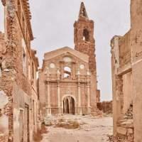 El viejo pueblo de Belchite y las heridas de la guerra